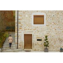 Janela / porta-janela com caixa de estore exterior ALTA TWIN