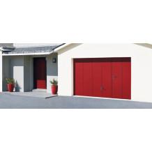 A gama de portões de garagem