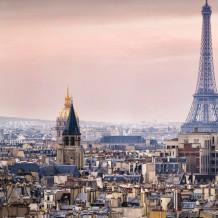 Parede decorativa Element 3D Tour Eiffel