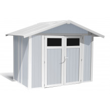 Abrigo de jardim Utility 4,9 m Cinzento azul