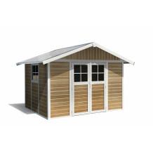 Abrigo de jardim Déco Sherwood 7,5 m ²