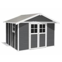 Abrigo de jardim Déco 11 m² Cinzento escuro