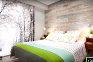 Uma nova sala com ambiente natureza !