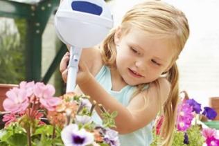 Esta tarde, é jardinagem com a Lily!