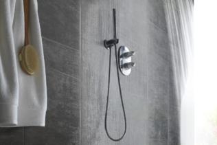 Paredes do Banheiro: revestimento em PVC, uma alte...