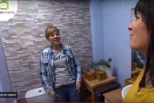 Uma casa de banho totalmente remodelada!