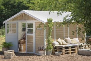 Porquê escolher um abrigo de jardim PVC Grosfille...